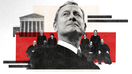 Behind closed doors during one of John Roberts' most surprising years on the Supreme Court