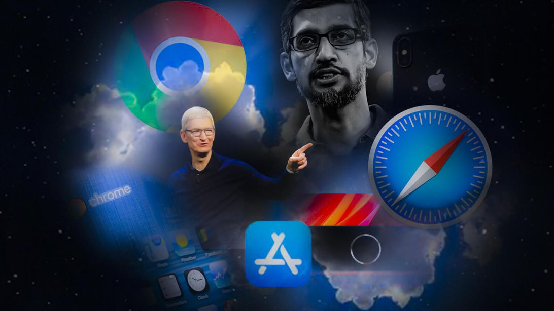 Apple vs Google on the future of the web