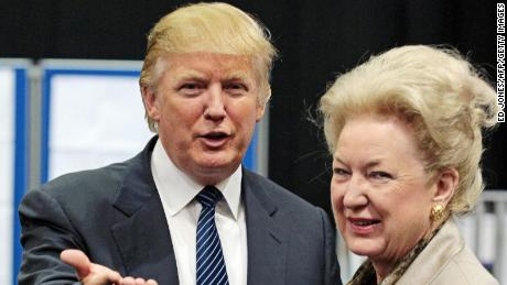 Investigation into Trump's sister ends with her retirement